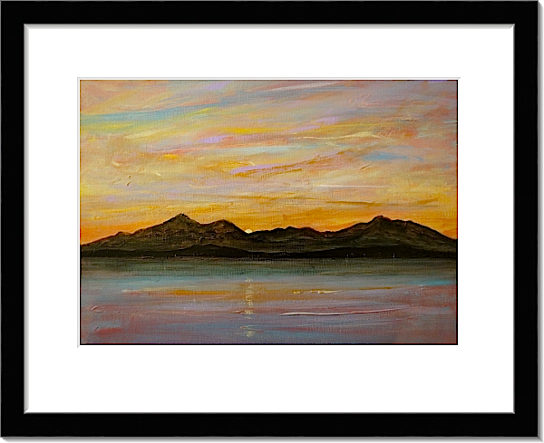 Arran Sleeping Warrior Paintings, Prints & Commissions - Kevin Hunter ...