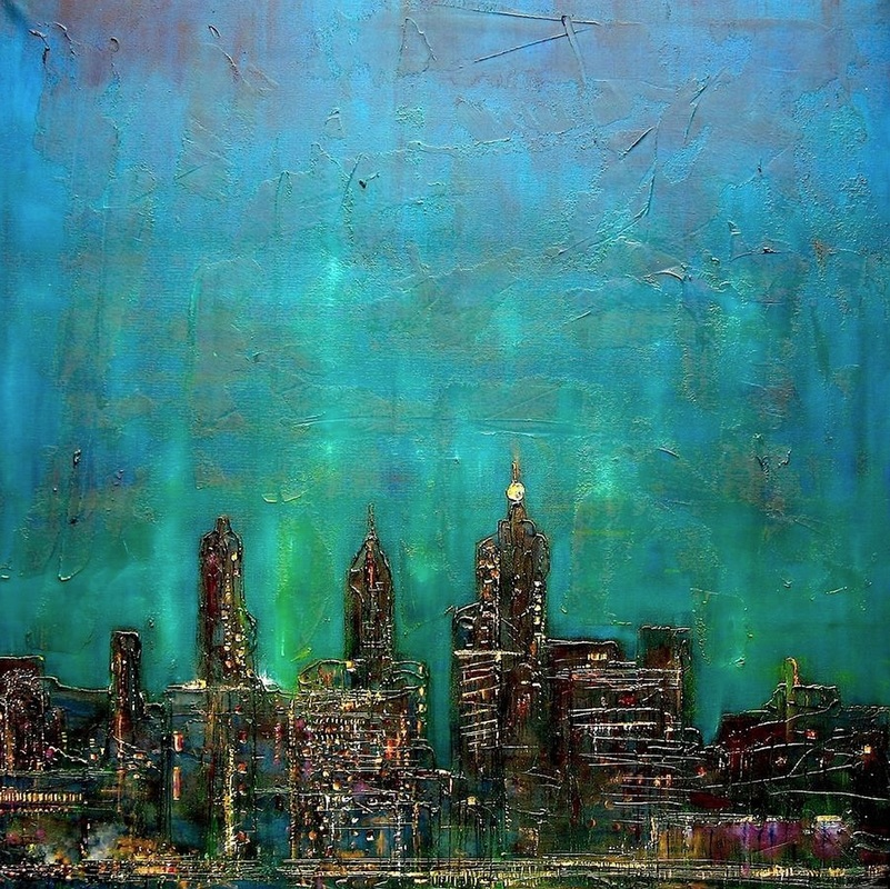 cityscape-skyline-contemporary-modern-original-paintings-art-canvas-print-commissions