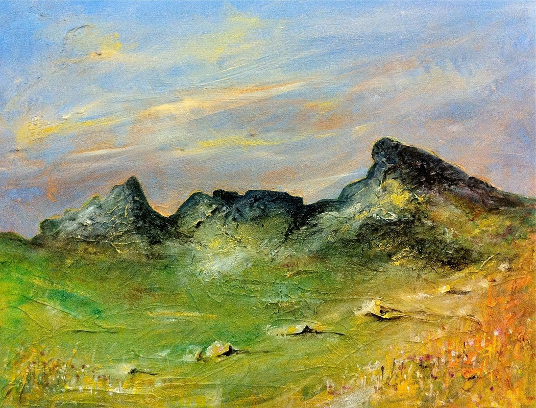 Landscape-Paintings-And-Prints-Of-Scottish-Mountains
