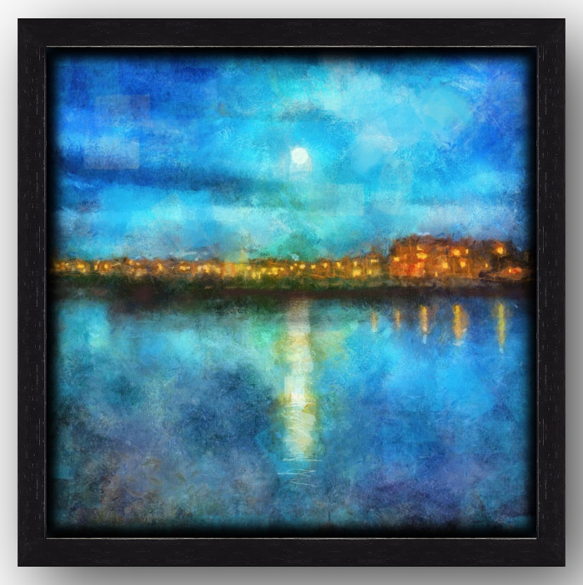 Portobello-Moonlight-Painting-Print-Canvas-Floating